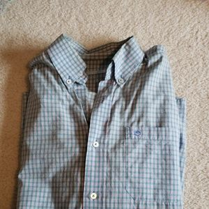 Small plaid shirt